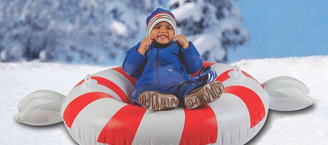 Snow Tubes Family Image