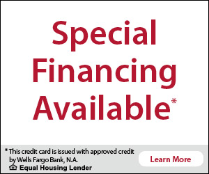 Wells Fargo financing at Lakeland Pools and Spas